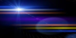 抽象光线影响背景 免版税库存图片