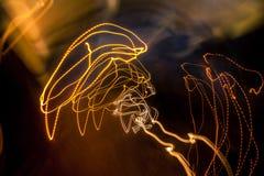抽象光线索 库存照片