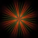 抽象光芒 库存例证