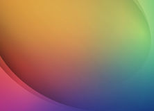 抽象光滑的五颜六色的背景设计模板 免版税库存照片