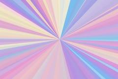 抽象全息照相的氖发出光线背景 五颜六色的条纹射线样式 时髦的例证现代趋向颜色 库存照片