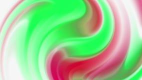 抽象全息照相的箔背景,波浪表面,波纹,时髦充满活力的纹理,时尚纺织品,霓虹颜色,图形设计, 股票视频
