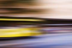 抽象公共汽车速度 库存图片