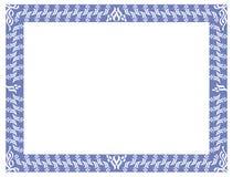 抽象典雅的框架 免版税库存照片