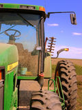 抽象农用拖拉机 库存照片