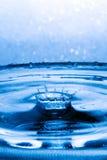 抽象冠飞溅水 免版税库存照片