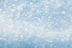 抽象冬天雪背景 库存照片
