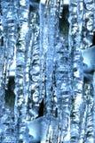 抽象冰柱 免版税图库摄影