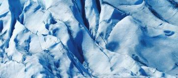 抽象冰河 免版税库存照片