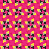 抽象几何三角 免版税库存图片