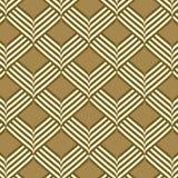 抽象几何丝带样式无缝的背景 库存例证