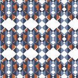 抽象几何传染媒介减速火箭的背景 五颜六色的背景 免版税图库摄影
