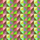 抽象几何传染媒介图象样式 免版税库存图片