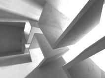 抽象几何具体建筑学背景 图库摄影