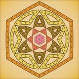抽象几何图10 eps 库存例证