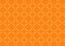 抽象几何形状仿造橙色背景 向量例证