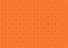 抽象几何形状仿造橙色背景 皇族释放例证