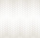 抽象几何微妙的deco艺术半音hexagone和三角打印样式 免版税图库摄影