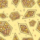 抽象几何无缝的传染媒介样式 库存图片