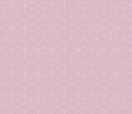 抽象几何无缝的样式背景 库存例证