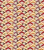 抽象几何无缝的背景-向量 免版税库存照片