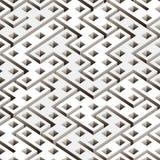 抽象几何无缝的背景 皇族释放例证