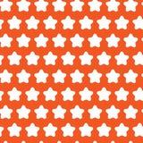 抽象几何星无缝的样式 向量 库存照片