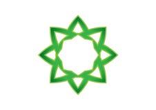 抽象几何标志 免版税库存图片