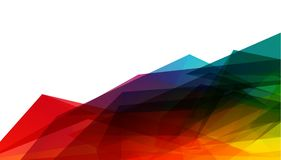 抽象几何样式和背景传染媒介  惊人的传染媒介例证eps10 免版税库存图片