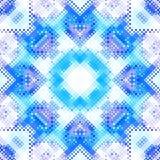 抽象几何模式 皇族释放例证