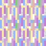 抽象几何模式 库存照片