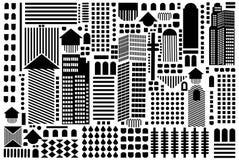 抽象几何模式 库存图片