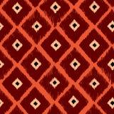 抽象几何橙色传染媒介背景 免版税库存照片