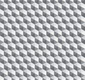 抽象几何瓦片六角形无缝的样式背景 皇族释放例证
