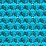 抽象几何瓦片无缝的样式背景 皇族释放例证