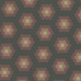 抽象几何瓦片样式背景 向量例证