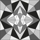 抽象几何线路 免版税库存图片