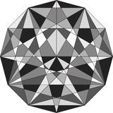 抽象几何线路 库存照片