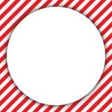 抽象几何线,与对角红色和白色,与圈子 也corel凹道例证向量 免版税图库摄影