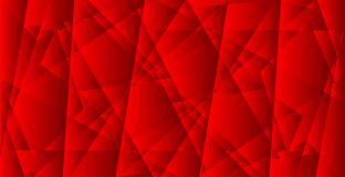 抽象几何绯红背景传染媒介 库存图片