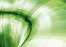抽象几何绿色行动模式 库存照片