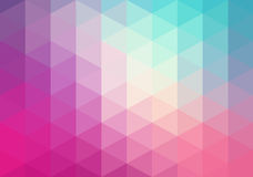 抽象几何背景,三角 免版税图库摄影