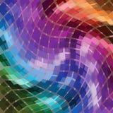 抽象几何背景 向量例证