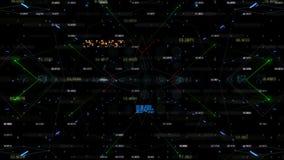 抽象几何背景 股票视频