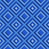 抽象几何蓝色样式菱形 向量例证