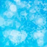 抽象几何蓝色背景。 免版税库存图片