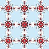抽象几何装饰品几何纹理 库存照片