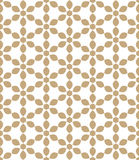 抽象几何金行家deco艺术样式 皇族释放例证