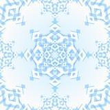 抽象几何雪花 库存图片