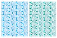 抽象几何马赛克传染媒介样式 向量例证
